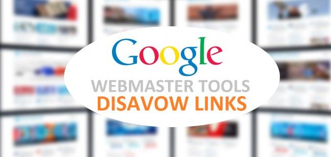 Googles disavow tool